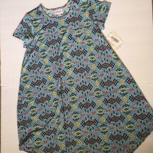 Lularoe Kids Scarlett Dress NWT 12